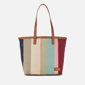 Paul Smith Women's Stripe Tote Bag - Multi