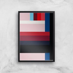 Pastel Stripes Giclee Art Print
