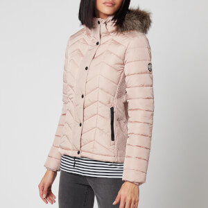 Superdry Women's Luxe Fuji Padded Jacket - Soft Pink