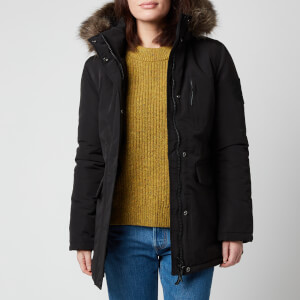 Superdry Women's Everest Parka - Black