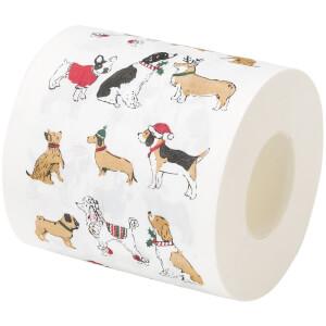 Festive Pooch Toilet Roll