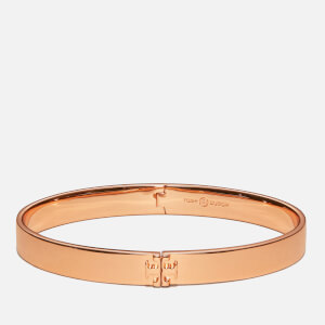 Tory Burch Women's Kira Hinged Bracelet - Rose Gold