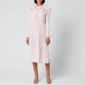 Philosophy di Lorenzo Serafini Women's Ruffled Dress - Pink