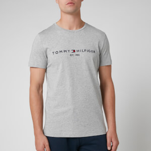 Tommy Hilfiger Men's Tommy Logo T-Shirt - Cloud Heather