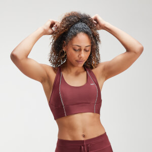 MP Women's Velocity Sports Bra- Claret