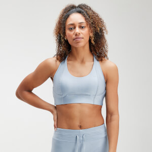 MP Women's Velocity Sports Bra- Light Blue