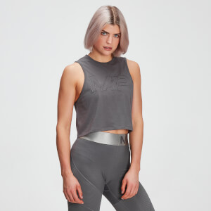 Top sin mangas drirelease® Adapt para mujer de MP - Gris carbón