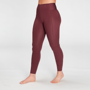 MP Women's Composure Leggings- Washed Oxblood
