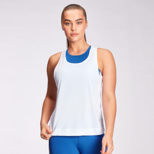 MP Women's Engage Racer Back Vest - White