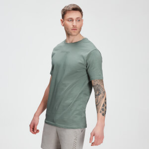 T-shirt de Manga Curta Tonal Graphic da MP para Homem – Washed Green