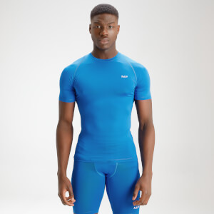 MP Men's Essentials Training Baselayer Short Sleeve Top - True Blue