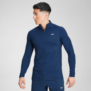 MP Velocity 1/4-Zip-Top für Herren − Dunkelblau