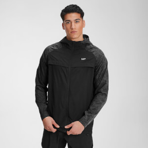MP Men's Velocity Packable Running Jacket – Svart