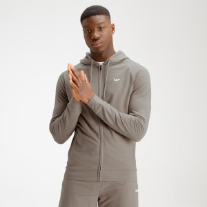 MP Men's Form Zip Up Hoodie - Taupe