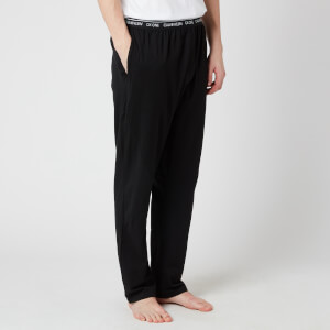 Calvin Klein Men's Jersey Sleep Pants - Black