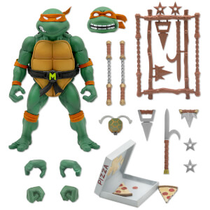 Super7 Teenage Mutant Ninja Turtles ULTIMATES! Figure - Michelangelo