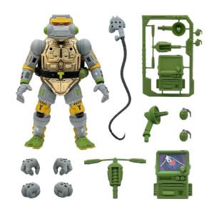 """Super7 Teenage Mutant Ninja Turtles Ultimates! Metalhead 7"""" Action Figure"""