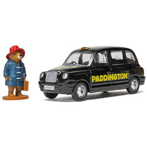 Paddington Bear London Taxi and Paddington Bear Figure Model Set - Scale 1:36
