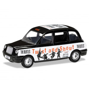 The Beatles London Taxi Twist and Shout Model Set - Scale 1:36