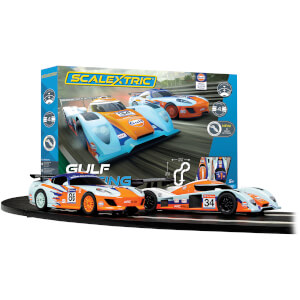 Scalextric Gulf Racing (Team GT Gulf vs Team LMP Gulf) Race Set