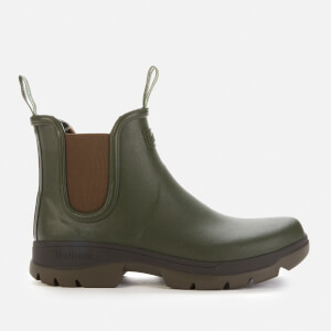 Barbour Men's Fury Chelsea Wellies - Olive