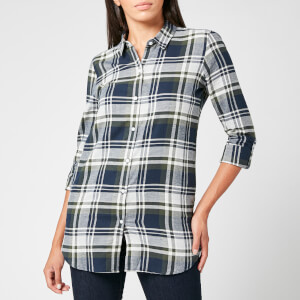 Barbour Women's Windbound Shirt - Olive Check