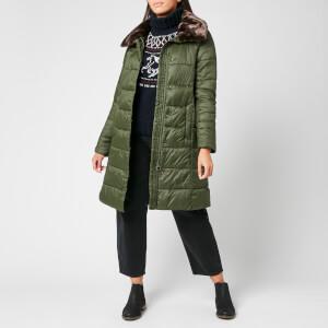 Barbour Women's Teasel Quilt Coat - Sage