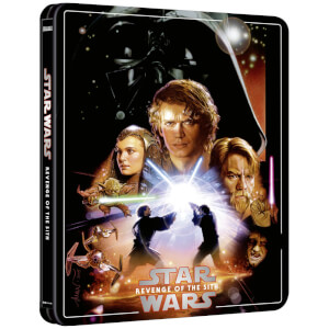 Exclusivité Zavvi : Steelbook Star Wars, épisode III : La Revanche des Sith – 4K Ultra HD (Édition 3 Disques Blu-ray inclus)