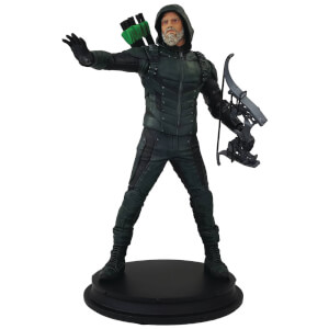 Icon Heroes DC Comics Green Arrow TV Star City 2046 Deluxe Statue