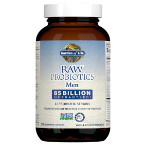 Raw Microbiomes Men - Cooler - 90 Capsules