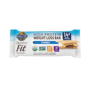 Garden of Life Organic Fit Plant-Based Bar - Smores - 4 Units