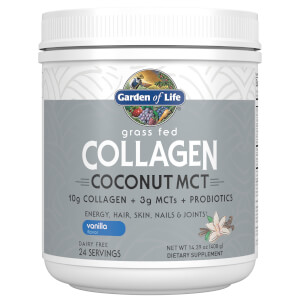 Garden of Life Collagen Coconut MCT - Vanilla - 408g