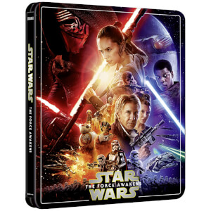 Exclusivité Zavvi : Steelbook Star Wars, épisode VII : Le Réveil de la Force – 4K Ultra HD (Édition 3 Disques Blu-ray inclus)