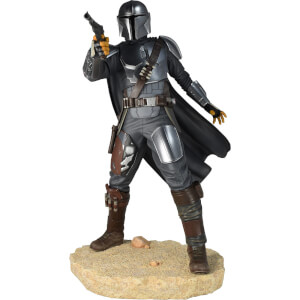 Diamond Select Star Wars Premier Collection Mandalorian MK3 Statue