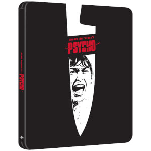 Psycho 60th Anniversary Edition - Limited Edition 4K Ultra HD Steelbook (Includes 2D Blu-ray)