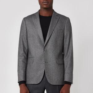Officine Generale Men's 375 Herringbone Jacket - Grey