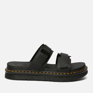 Dr. Martens Men's Chilton Hydro Leather Sandals - Black