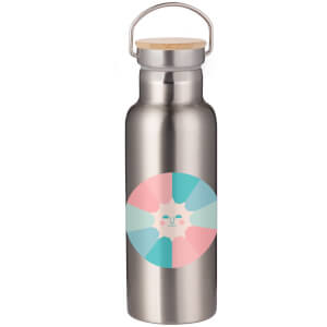 Colours Of The Sun Portable Insulated Water Bottle - Steel
