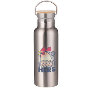 Hers Portable Insulated Water Bottle - Steel