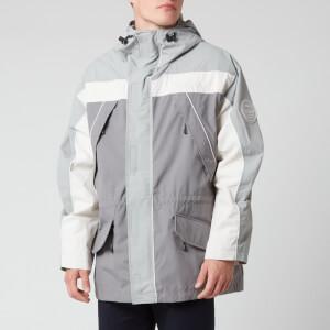 Napapijri X Martine Rose Men's Epoch Sum 1 Parka Jacket - Grey/Silver