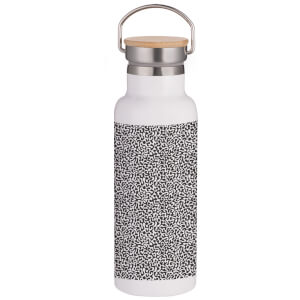 Splodge Portable Insulated Water Bottle - White