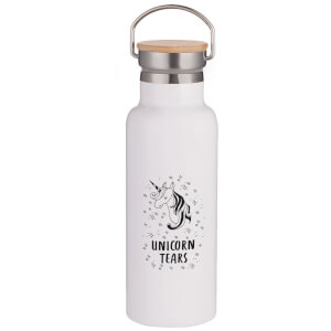 Unicorn Tears Portable Insulated Water Bottle - White