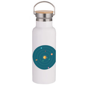 Solar System Portable Insulated Water Bottle - White