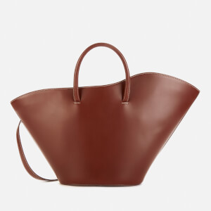 Little Liffner Women's Open Tulip Medium Tote Bag - Chestnut