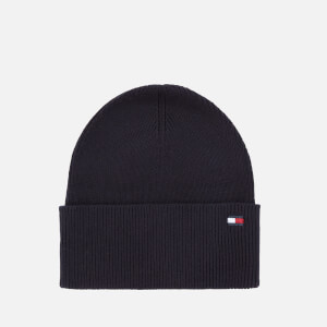 Tommy Hilfiger Women's Essential Knitted Beanie - Sky Captain