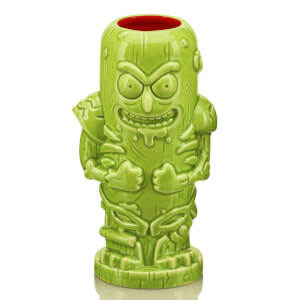 Beeline Creative Rick and Morty Pickle Rick Geeki Tiki