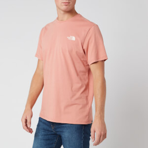 The North Face Men's Simple Dome T-Shirt - Pink Clay