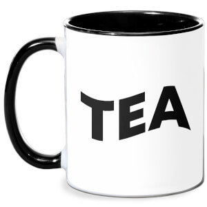 Tea Mug - White/Black