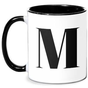 M Mug - White/Black