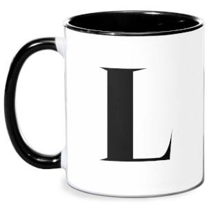 L Mug - White/Black